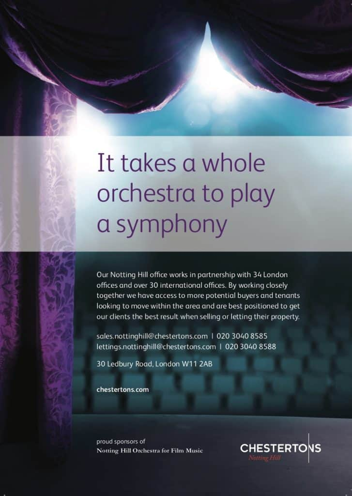 Sponsorship opportunities London Film Music Orchestra